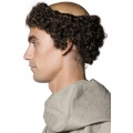 Tales of Old England-Curly Monk Wig