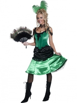 Can-Can Dancer Costume