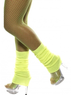 Neon Legwarmers-Yellow