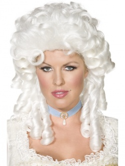 Baroque Wig - White