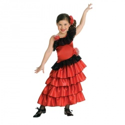 Flamengo Dancer Child Costume