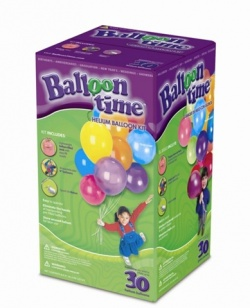 Helium Kit with 30 Balloons
