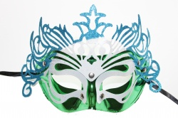 Dragon Mask-Green With Blue Decoration