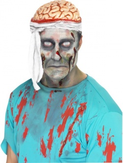 Horror Bandage Brain Hat