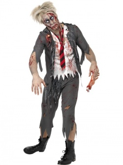 High School Student Zombie Costume