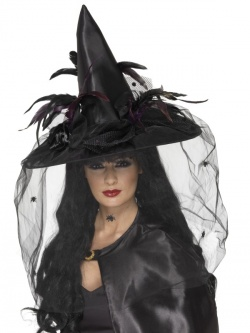 Black Witches Hat Deluxe