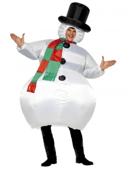 Costume of Inflatable Snowman