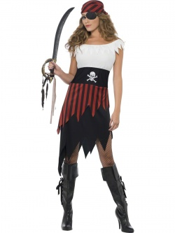 Lovely Pirate Lady Costume
