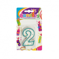 Birthday Candle With Number - 2