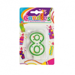 Birthday Candle With Number - 8