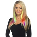 Hair Extensions Neon Red