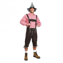 Dark Brown Lederhosen
