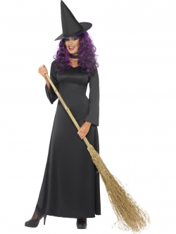 Witch Costume - Black