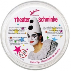 Theater Make-up - White
