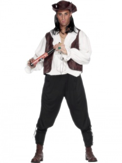 Deluxe Pirate Man Costume
