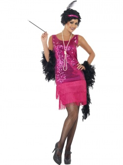 Funtime Flapper Costume - Pink