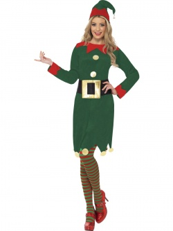 Elf Woman Costume - deluxe