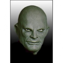 Latex Fantomas Mask Deluxe - Green