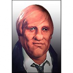 Latex Depardieu Mask - Deluxe