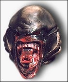 Latex Alien Mask - Deluxe