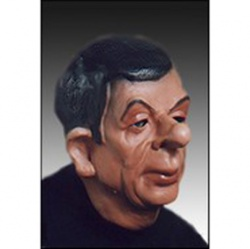 Latex Mr. Bean Mask - Deluxe