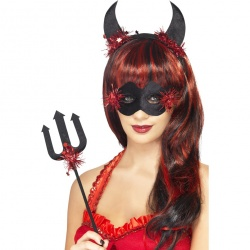 Devilicious Kit With Eye Mask - Black