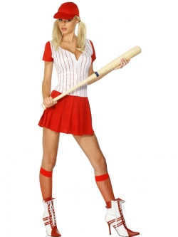 Fever Baseball Pitcher Perfect Costume
