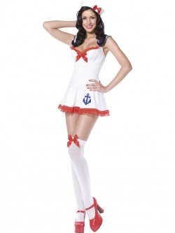 Fever Pin Up Anchors Away Costume