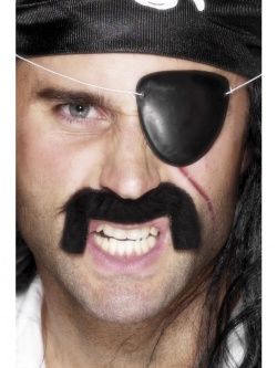 Pirate Eyepatch Black