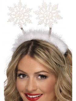 Snowflake Head Boppers White