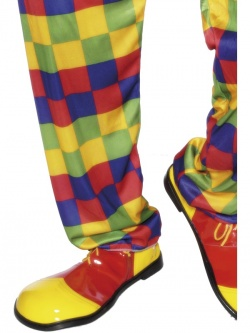 Clown Shoes Deluxe Red and Yellow