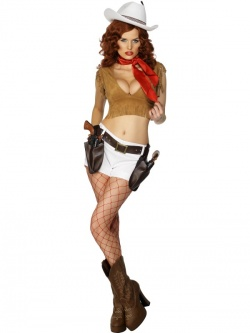 Fever Wild West Pin Up Costume