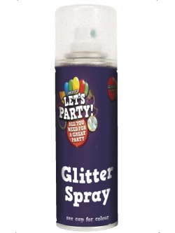 Hair Colour Glitter Gold Spray